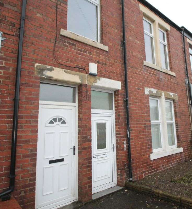 2 Bedrooms Flat for sale in Brookland Terrace, North Shields