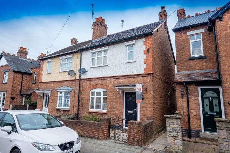 2 Bedrooms Semi Detached House for sale in Wellington Avenue, Bradmore, Wolverhampton