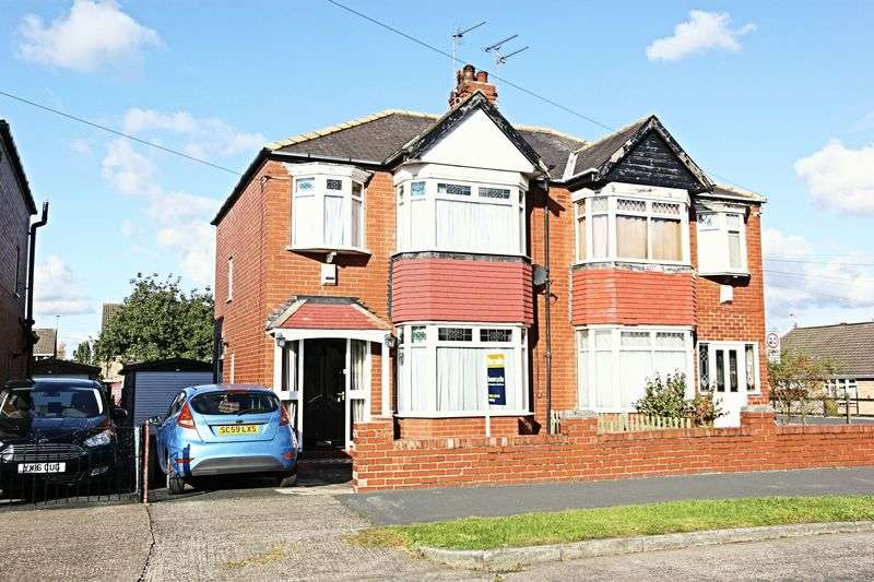 3 Bedrooms Semi Detached House for sale in Faversham Avenue, Hull