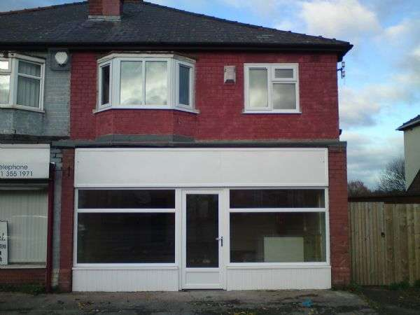 1 Bedroom Property for sale in Shop unit and First floor flat
