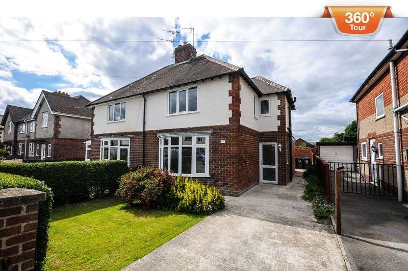 2 Bedrooms Semi Detached House for sale in Springfield Avenue, Ashbourne