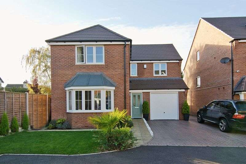 4 Bedrooms Detached House for sale in Harvest Grove, Walsall