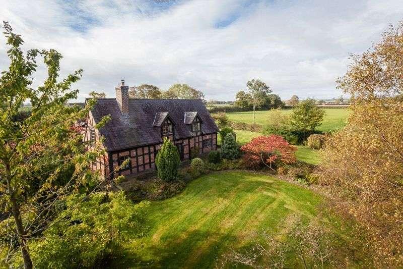 5 Bedrooms Detached House for sale in Lodmore Lane, Burleydam, Nr Audlem