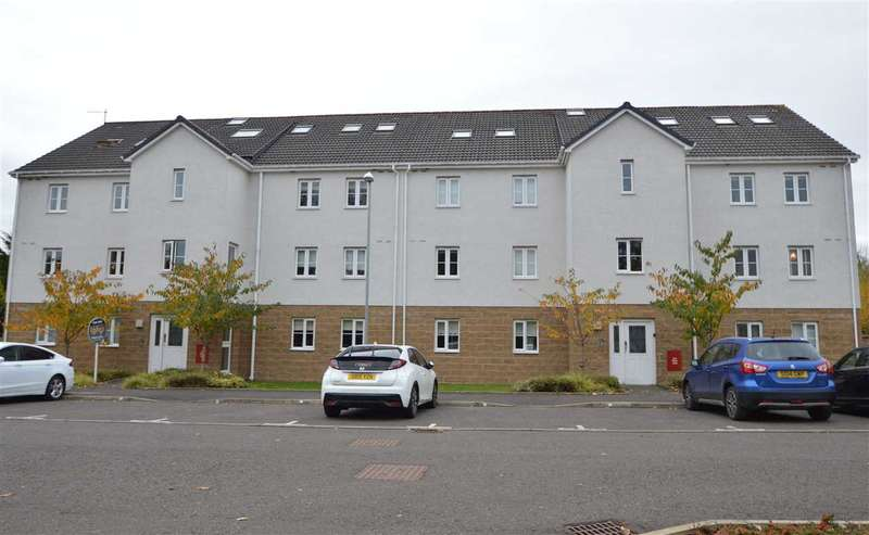 2 Bedrooms Apartment Flat for sale in Trinity Drive, Uddingston - larger style top floor apartment