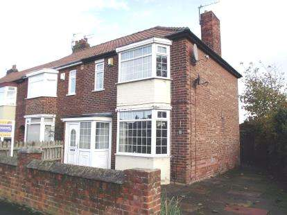 3 Bedrooms Semi Detached House for sale in Endsleigh Drive, Middlesbrough