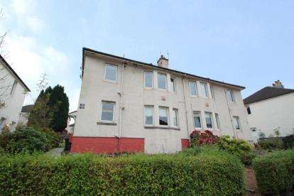 2 Bedrooms Flat for sale in Crags Crescent, Paisley