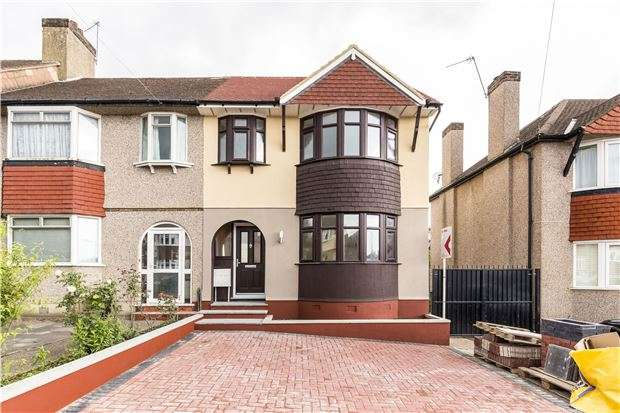 5 Bedrooms End Of Terrace House for sale in Thurleston Avenue, MORDEN, Surrey, SM4 4BN