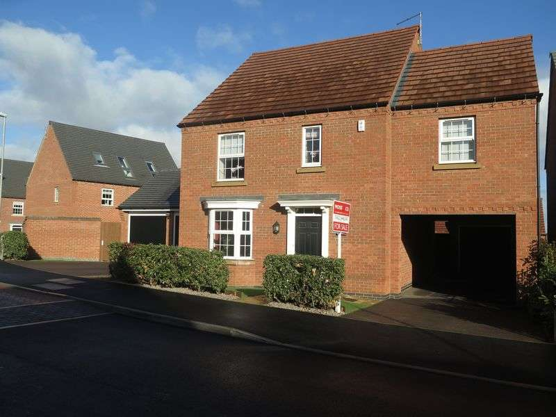 4 Bedrooms Detached House for sale in Sanderling Way, Forest Town
