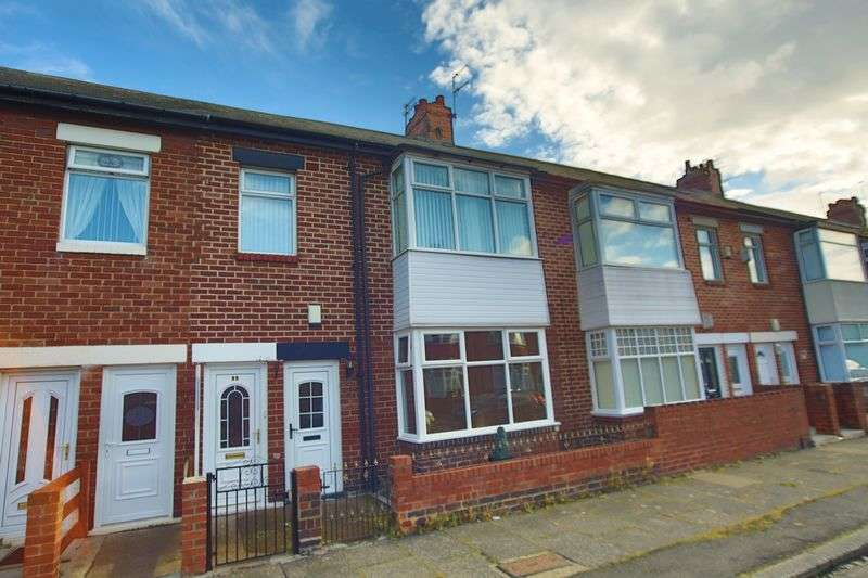 2 Bedrooms Flat for sale in Cranford Street, South Shields