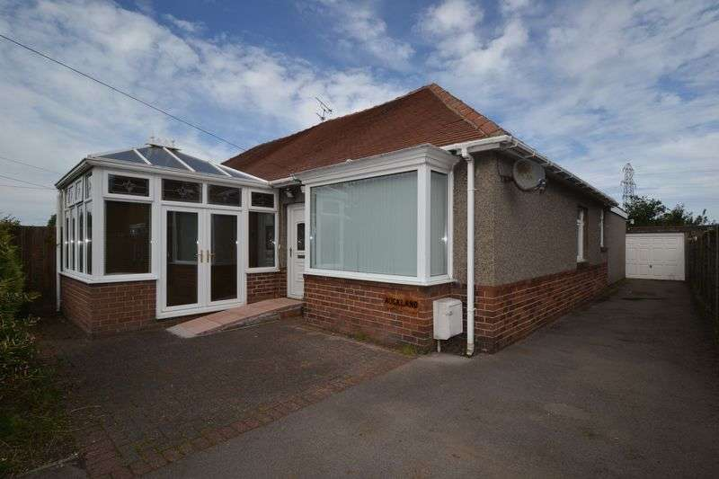 3 Bedrooms Semi Detached Bungalow for sale in Mile Road, Widdrington
