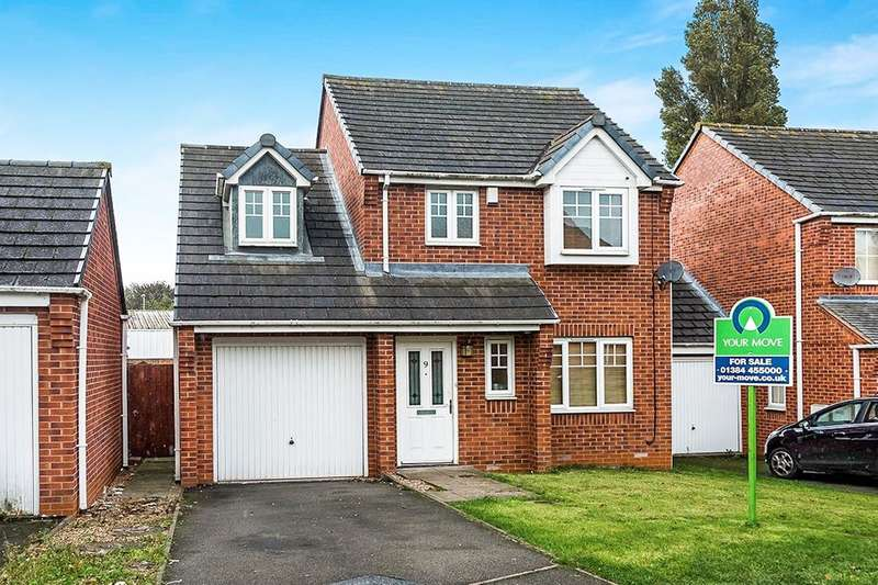 3 Bedrooms Detached House for sale in Colsyll Gardens, Dudley, DY1