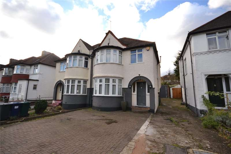 3 Bedrooms Semi Detached House for sale in Great North Way, Hendon, London, NW4