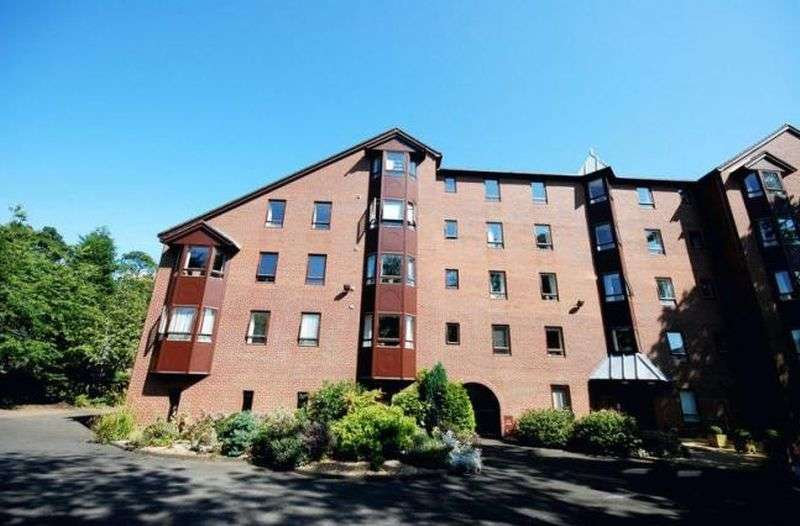 1 Bedroom Flat for sale in Ettrock Lodge, 36 The Grove, Newcastle Upon Tyne: NO CHAIN one bed ground floor retirement apartment