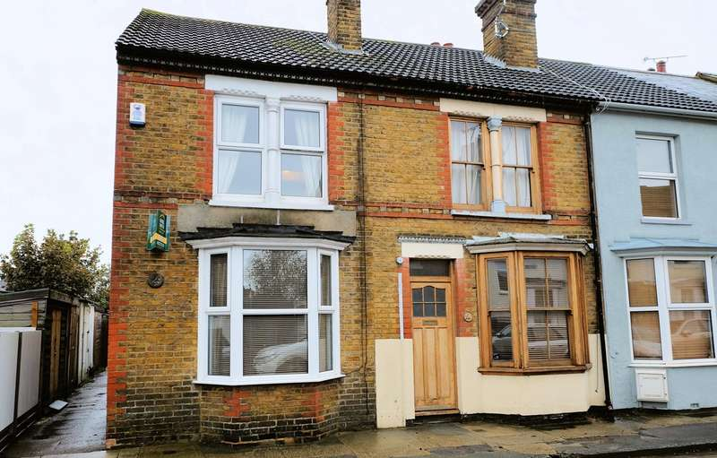 3 Bedrooms End Of Terrace House for sale in King Edward Street, Whitstable, CT5