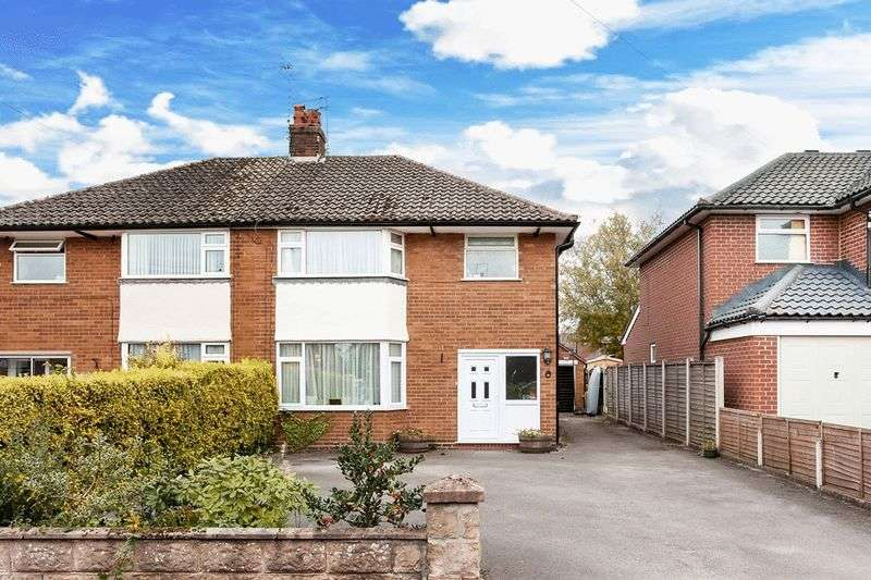 3 Bedrooms Semi Detached House for sale in Brooklands Road, Congleton