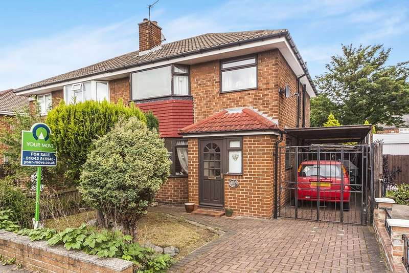 3 Bedrooms Semi Detached House for sale in Elwick Avenue, Middlesbrough, TS5