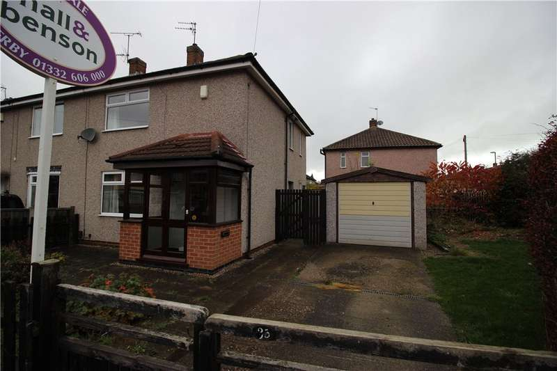 2 Bedrooms Semi Detached House for sale in Sandringham Road, Derby, Derbyshire, DE21