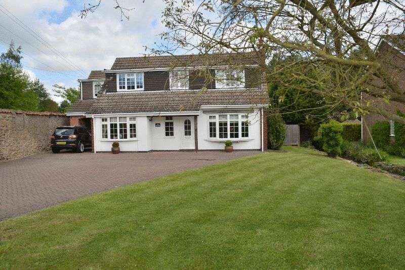 5 Bedrooms Detached House for sale in Green Trees, Burton Road, Thealby, Scunthorpe