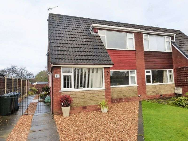 3 Bedrooms Semi Detached Bungalow for sale in Napier Avenue, Tarleton, Preston