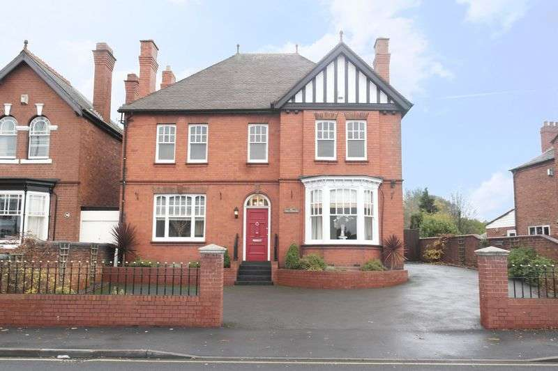 4 Bedrooms Detached House for sale in Manse Lichfield Road, Walsall