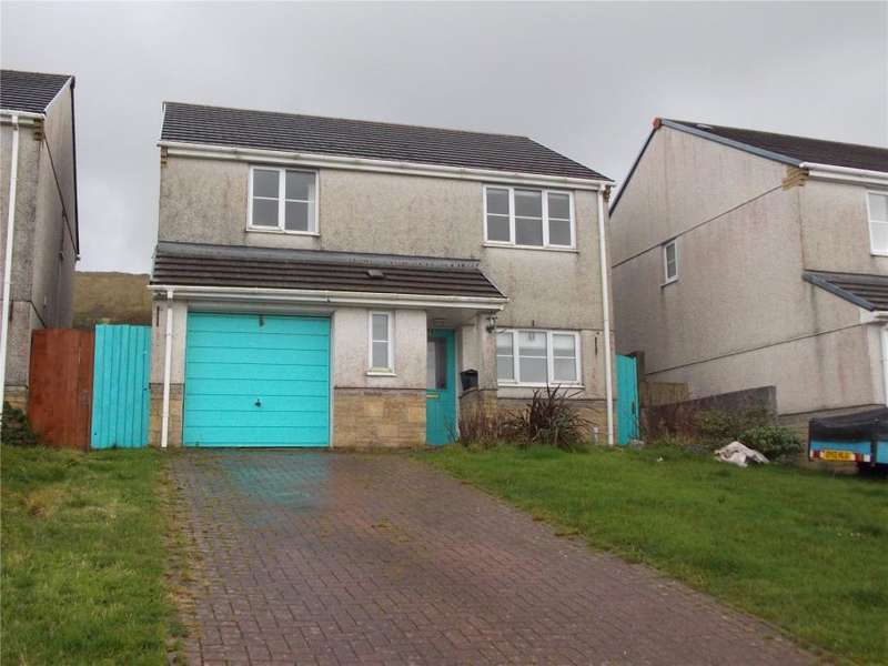 4 Bedrooms Detached House for sale in Hillside Meadows, Foxhole, St Austell