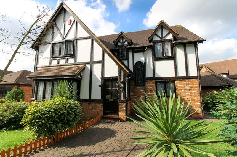 5 Bedrooms Detached House for sale in Priory Field Drive, Edgware, HA8