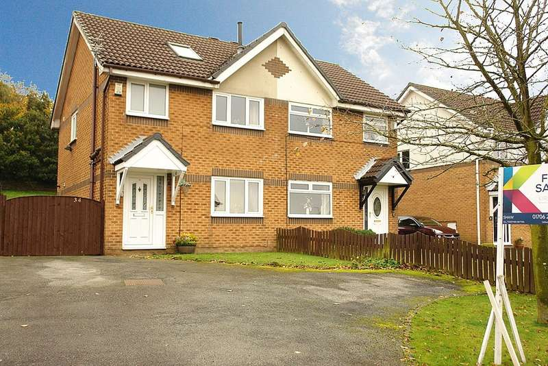 3 Bedrooms Semi Detached House for sale in 34 Wilkes Street, Moorside, Oldham