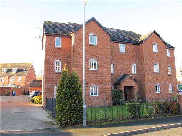 2 Bedrooms Apartment Flat for sale in Burwaye Close, Friary Mews, Lichfield