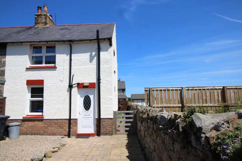 2 Bedrooms Semi Detached House for sale in Jubilee Place, Seahouses, NE68