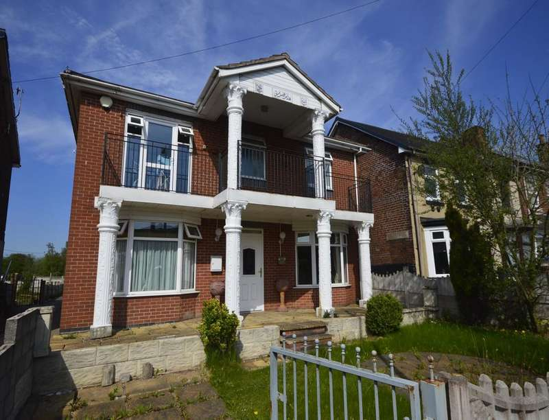 5 Bedrooms Detached House for sale in Uttoxeter Road, Normacott, Stoke-On-Trent, ST3