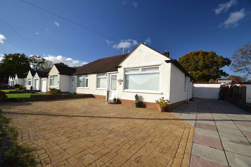 2 Bedrooms Semi Detached Bungalow for sale in Heol Yr Efail , Rhiwbina, Cardiff. CF14 4SS