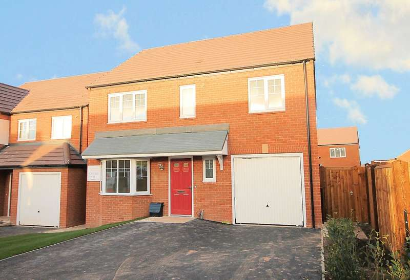 4 Bedrooms Detached House for sale in The Mapleton, Penmire Rise, Spon Lane, Grendon, CV9 2EX