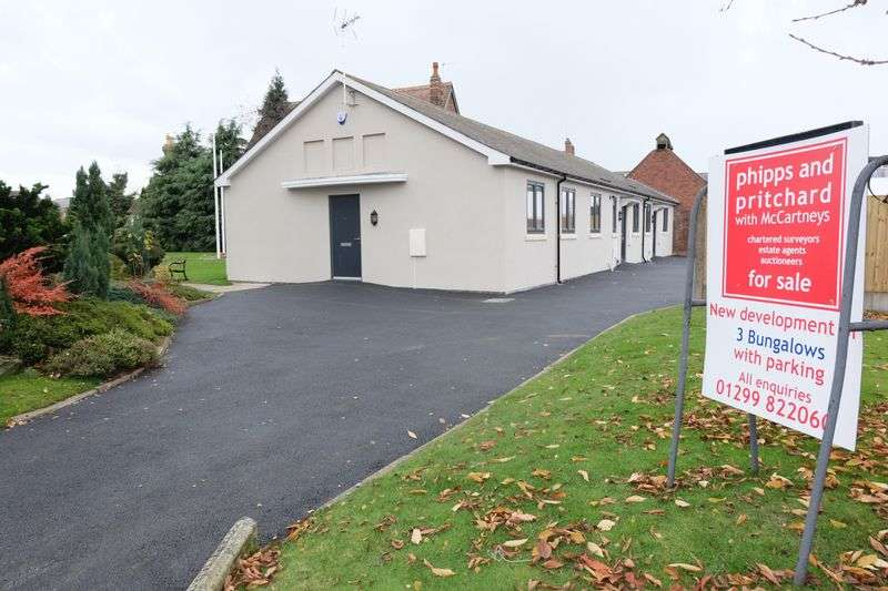 2 Bedrooms Bungalow for sale in Vale Road, Stourport-On-Severn DY13 8YJ