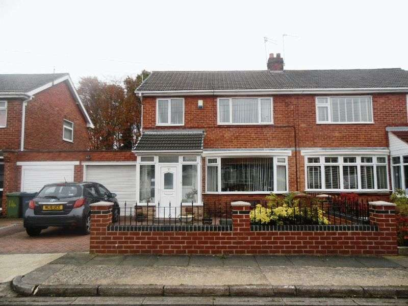 3 Bedrooms Semi Detached House for sale in Cumberland Way, Washington