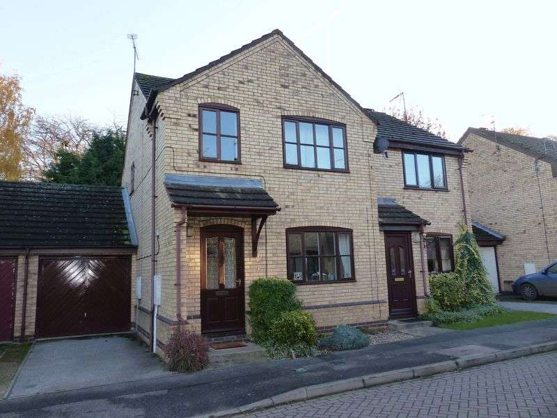 3 Bedrooms Semi Detached House for sale in The Sidings, Saxilby