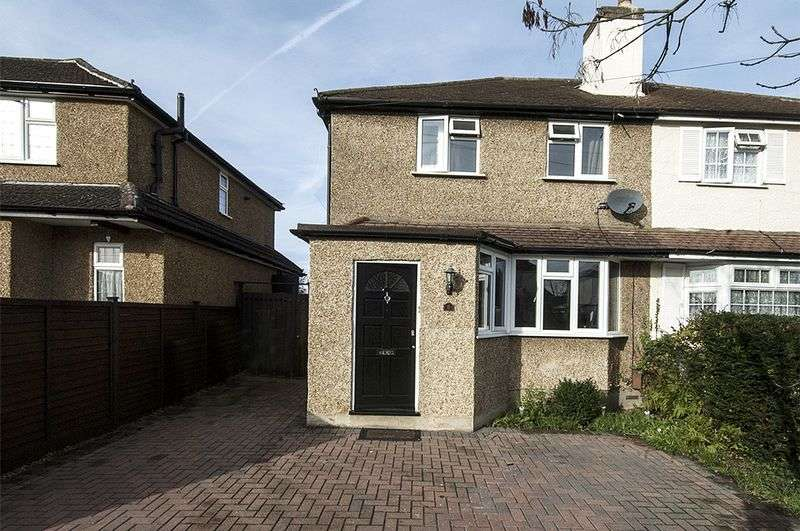 3 Bedrooms Semi Detached House for sale in Second Avenue, Walton-On-Thames