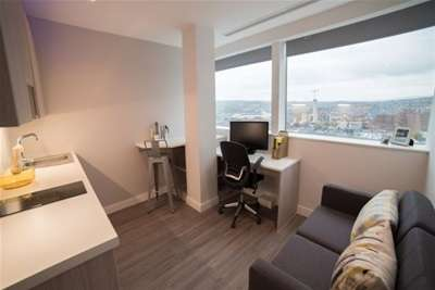 Flat for rent in Redvers Tower, 49 Furnival Gate, Union Street, S1 4JQ