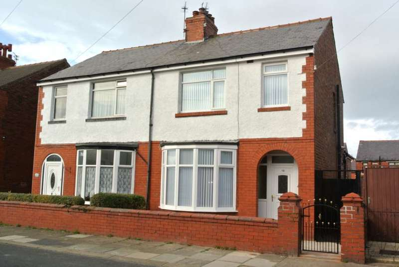 3 Bedrooms Semi Detached House for sale in Illford Road, Blackpool, FY4 4EB