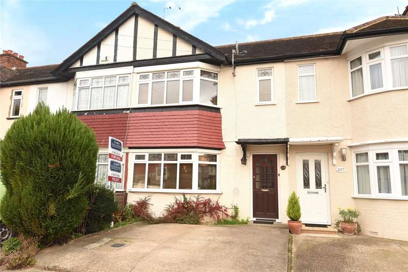 3 Bedrooms Terraced House for sale in Dulverton Road, Ruislip, Middlesex, HA4