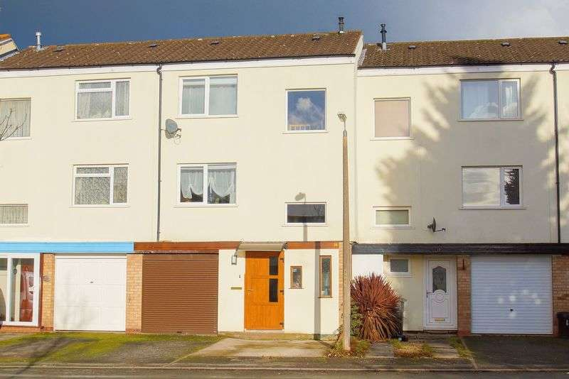4 Bedrooms Terraced House for sale in Kinnersley Close, Winyates West, Redditch, Worcestershire