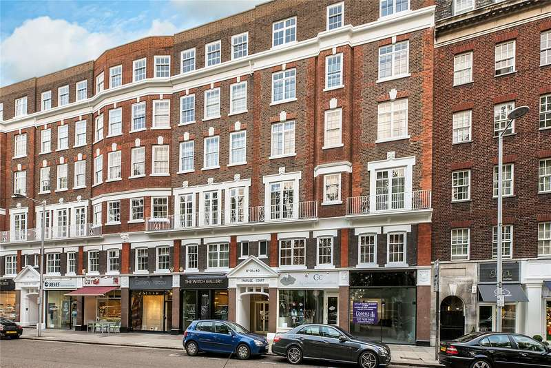 2 Bedrooms Flat for sale in Thurloe Court, Fulham Road, London, SW3