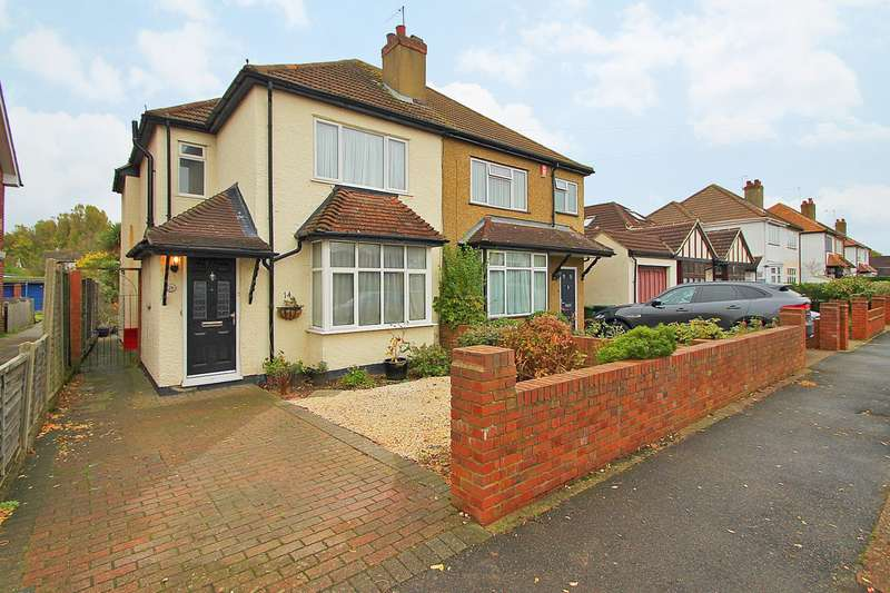 3 Bedrooms Semi Detached House for sale in Thetford Road, Ashford, TW15