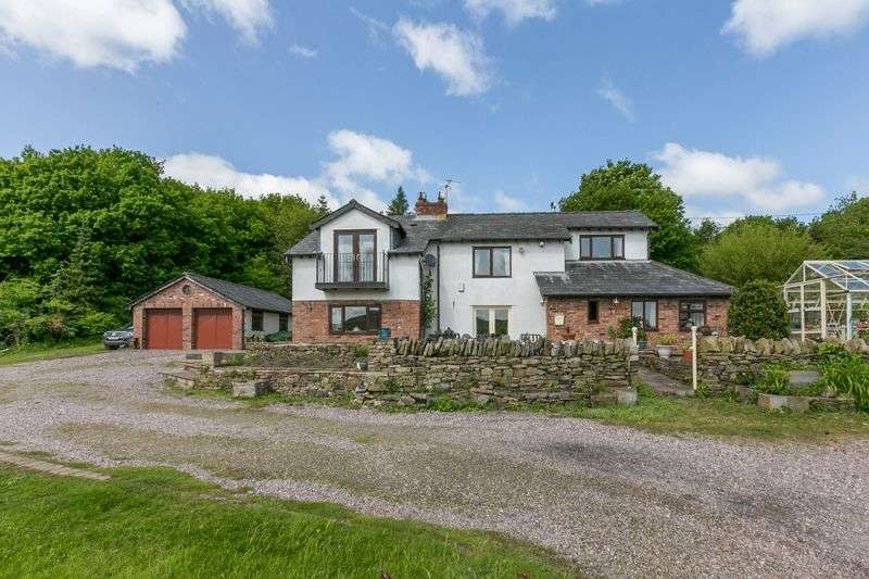 3 Bedrooms Detached House for sale in Gillibrand Cottage, Wood Lane, Parbold, WN8 7TH
