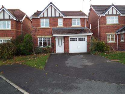 4 Bedrooms Detached House for sale in Beckett Close, Colwyn Bay, Conwy, LL28