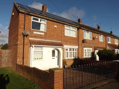 3 Bedrooms End Of Terrace House for sale in Gaskell Avenue, South Shields, Tyne and Wear, NE34