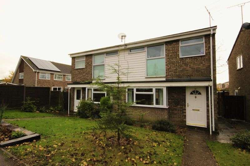 3 Bedrooms Semi Detached House for sale in Hunts Path, Oakley, Bedford