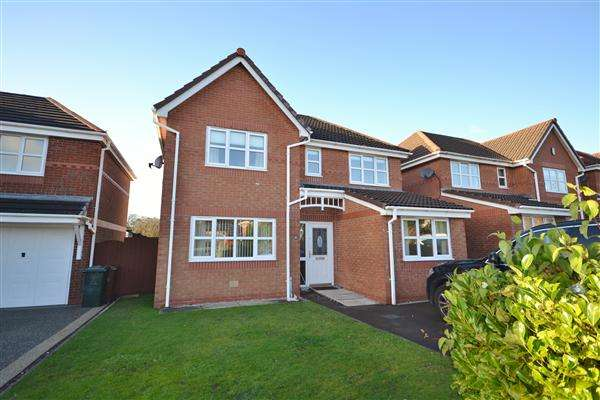 4 Bedrooms Detached House for sale in The Cherries, Euxton, Chorley