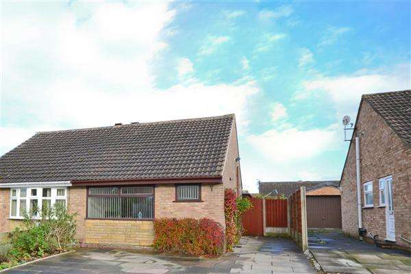 2 Bedrooms Semi Detached Bungalow for sale in Fotherby Place, Wigan