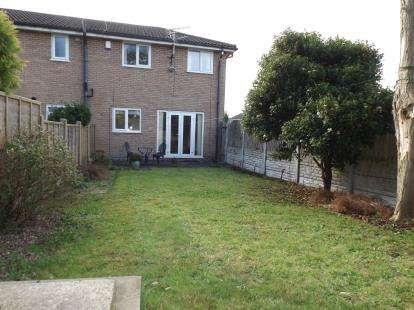 2 Bedrooms Semi Detached House for sale in Foxglove Drive, Broadheath, Altrincham, Greater Manchester