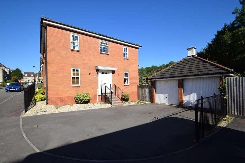 4 Bedrooms Detached House for sale in 15 Lowlands Close, Broadlands, Bridgend, Bridgend County Borough, CF31 5BU.